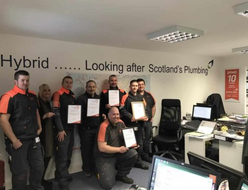 Dyno Scotland Customer Service Excellence Award